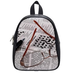 Crossword Genius School Bag (small) by StuffOrSomething