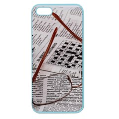 Crossword Genius Apple Seamless Iphone 5 Case (color) by StuffOrSomething