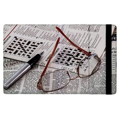 Crossword Genius Apple Ipad 3/4 Flip Case by StuffOrSomething