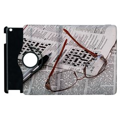 Crossword Genius Apple Ipad 3/4 Flip 360 Case by StuffOrSomething