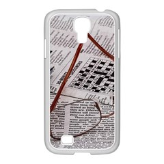 Crossword Genius Samsung Galaxy S4 I9500/ I9505 Case (white) by StuffOrSomething