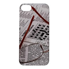 Crossword Genius Apple Iphone 5s Hardshell Case by StuffOrSomething