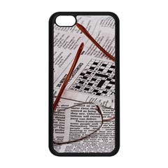 Crossword Genius Apple Iphone 5c Seamless Case (black) by StuffOrSomething