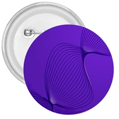 Twisted Purple Pain Signals 3  Button by FunWithFibro