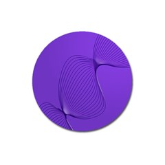 Twisted Purple Pain Signals Magnet 3  (round) by FunWithFibro