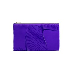 Twisted Purple Pain Signals Cosmetic Bag (small) by FunWithFibro