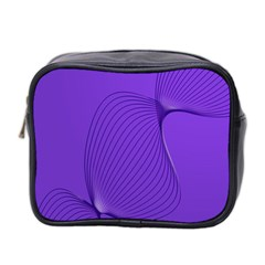Twisted Purple Pain Signals Mini Travel Toiletry Bag (two Sides) by FunWithFibro