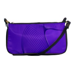 Twisted Purple Pain Signals Evening Bag by FunWithFibro