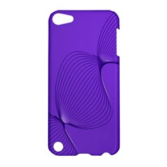 Twisted Purple Pain Signals Apple Ipod Touch 5 Hardshell Case by FunWithFibro