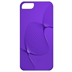 Twisted Purple Pain Signals Apple Iphone 5 Classic Hardshell Case by FunWithFibro