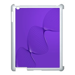 Twisted Purple Pain Signals Apple Ipad 3/4 Case (white) by FunWithFibro