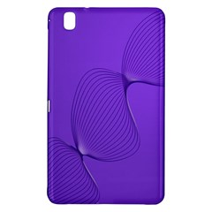 Twisted Purple Pain Signals Samsung Galaxy Tab Pro 8 4 Hardshell Case by FunWithFibro