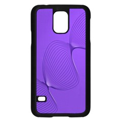 Twisted Purple Pain Signals Samsung Galaxy S5 Case (black) by FunWithFibro