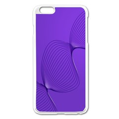 Twisted Purple Pain Signals Apple Iphone 6 Plus Enamel White Case by FunWithFibro