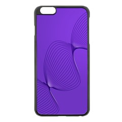 Twisted Purple Pain Signals Apple Iphone 6 Plus Black Enamel Case by FunWithFibro