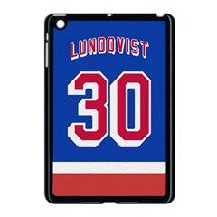 Henrik Lundqvist Jersey Style Device Case Apple Ipad Mini Case (black) by blueshirtdesigns
