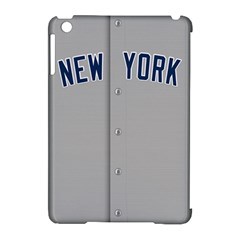 New York Yankees Jersey Case Apple Ipad Mini Hardshell Case (compatible With Smart Cover) by blueshirtdesigns