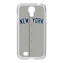 New York Yankees Jersey Case Samsung Galaxy S4 I9500/ I9505 Case (white) by blueshirtdesigns