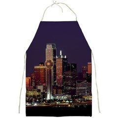 Dallas Skyline At Night Apron by StuffOrSomething