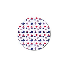 Nautical Sea Pattern Golf Ball Marker by StuffOrSomething