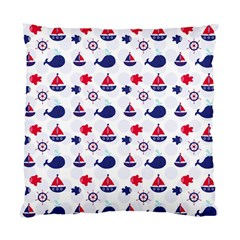 Nautical Sea Pattern Cushion Case (single Sided)  by StuffOrSomething