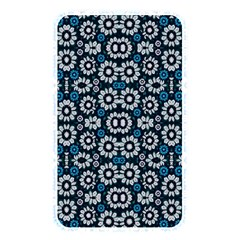 Floral Print Seamless Pattern In Cold Tones  Memory Card Reader (rectangular) by dflcprints