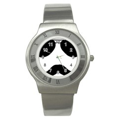 Aviators Tache Stainless Steel Watch (slim)