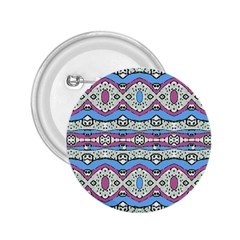 Aztec Style Pattern In Pastel Colors 2 25  Button by dflcprints