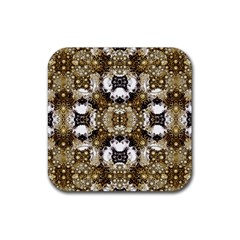 Baroque Ornament Pattern Print Drink Coasters 4 Pack (square) by dflcprints