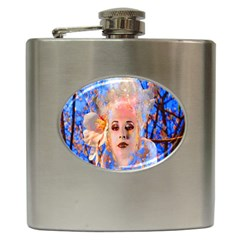 Magic Flower Hip Flask by icarusismartdesigns
