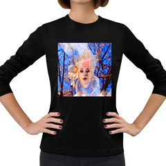Magic Flower Women s Long Sleeve T Shirt (dark Colored) by icarusismartdesigns