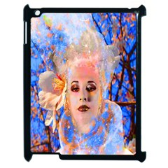 Magic Flower Apple Ipad 2 Case (black) by icarusismartdesigns