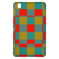 Squares In Retro Colors Samsung Galaxy Tab Pro 8 4 Hardshell Case by LalyLauraFLM
