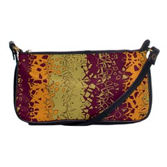 Scattered Pieces Shoulder Clutch Bag by LalyLauraFLM