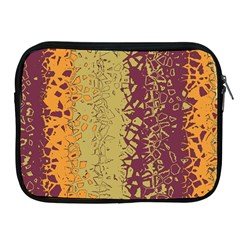 Scattered Pieces Apple Ipad 2/3/4 Zipper Case by LalyLauraFLM