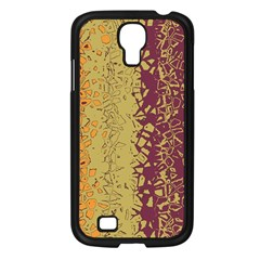 Scattered Pieces Samsung Galaxy S4 I9500/ I9505 Case (black) by LalyLauraFLM