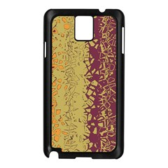 Scattered Pieces Samsung Galaxy Note 3 N9005 Case (black) by LalyLauraFLM