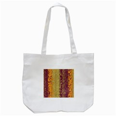 Scattered Pieces Tote Bag (white) by LalyLauraFLM