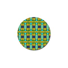 Different Shapes Pattern Golf Ball Marker (4 Pack) by LalyLauraFLM