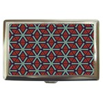 Cubes pattern abstract design Cigarette Money Case Front