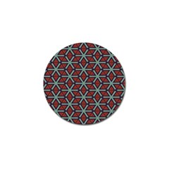 Cubes Pattern Abstract Design Golf Ball Marker (10 Pack) by LalyLauraFLM