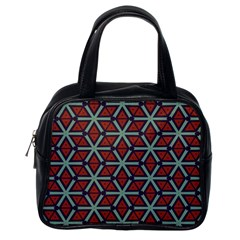 Cubes Pattern Abstract Design Classic Handbag (one Side) by LalyLauraFLM