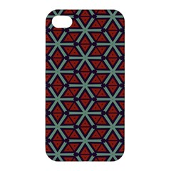 Cubes Pattern Abstract Design Apple Iphone 4/4s Hardshell Case by LalyLauraFLM