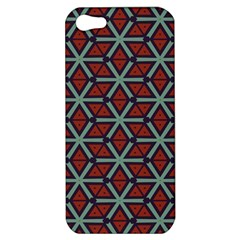 Cubes Pattern Abstract Design Apple Iphone 5 Hardshell Case by LalyLauraFLM