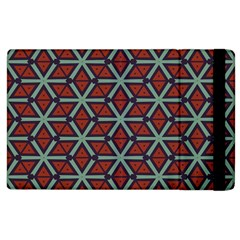 Cubes Pattern Abstract Design Apple Ipad 3/4 Flip Case by LalyLauraFLM