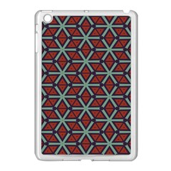 Cubes Pattern Abstract Design Apple Ipad Mini Case (white) by LalyLauraFLM