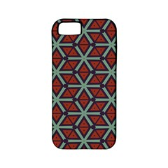 Cubes Pattern Abstract Design Apple Iphone 5 Classic Hardshell Case (pc+silicone) by LalyLauraFLM