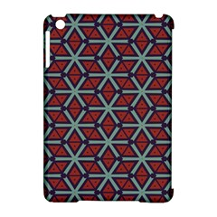 Cubes Pattern Abstract Design Apple Ipad Mini Hardshell Case (compatible With Smart Cover)