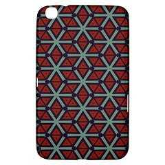 Cubes Pattern Abstract Design Samsung Galaxy Tab 3 (8 ) T3100 Hardshell Case  by LalyLauraFLM