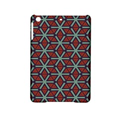 Cubes Pattern Abstract Design Apple Ipad Mini 2 Hardshell Case by LalyLauraFLM